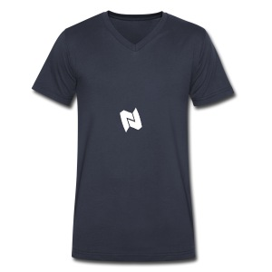 Nexa Logo - Men's V-Neck T-Shirt by Canvas