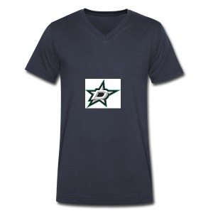 Counting Stars - Men's V-Neck T-Shirt by Canvas