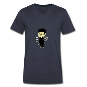 iBeat - Official Design - Men's V-Neck T-Shirt by Canvas