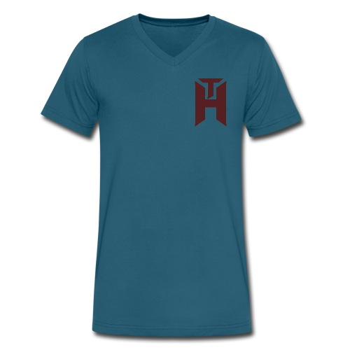 The Hybrids Logo - Men's V-Neck T-Shirt by Canvas