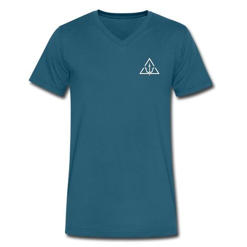 Triton Logo - Men's V-Neck T-Shirt by Canvas