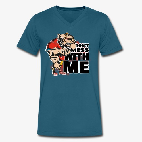 Don't Mess With Me - Men's V-Neck T-Shirt by Canvas