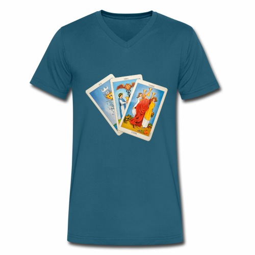Tarot - Men's V-Neck T-Shirt by Canvas