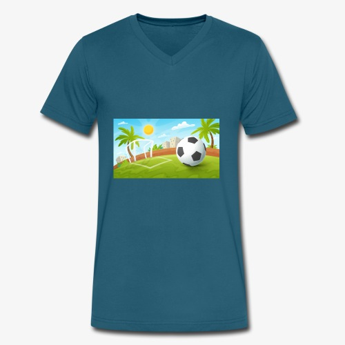 Perfect Day - Men's V-Neck T-Shirt by Canvas