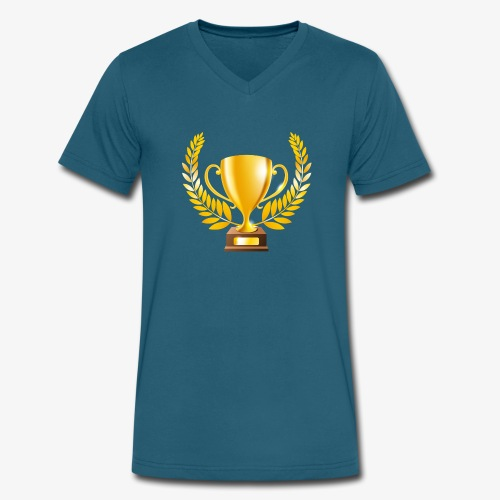 Champion - Men's V-Neck T-Shirt by Canvas