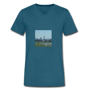 New York - Men's V-Neck T-Shirt by Canvas
