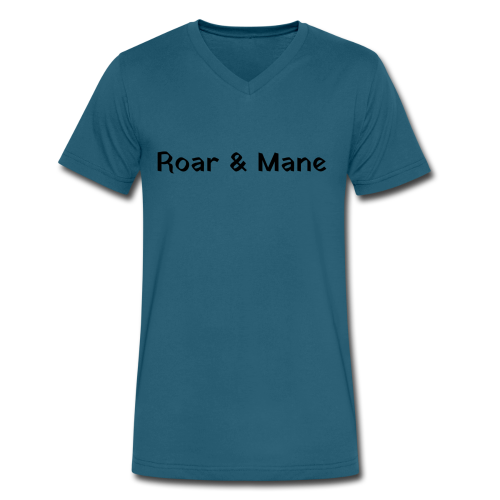 Guys R&M Name - Men's V-Neck T-Shirt by Canvas