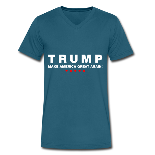 Official Trump 2016 - Men's V-Neck T-Shirt by Canvas