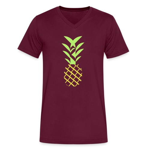 Pineapple flavor - Men's V-Neck T-Shirt by Canvas