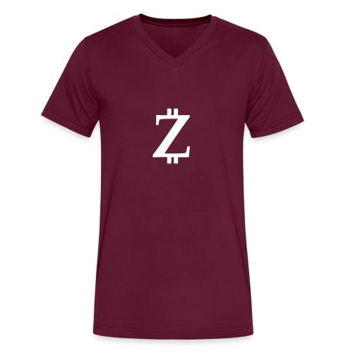 Big Z black - Men's V-Neck T-Shirt by Canvas