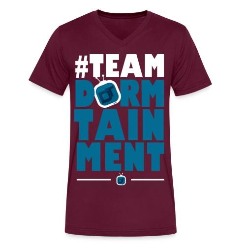 teamdt - Men's V-Neck T-Shirt by Canvas