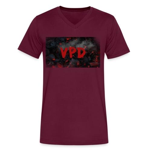 VPD Smoke - Men's V-Neck T-Shirt by Canvas