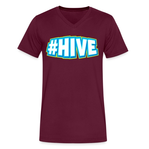 Hashtag Hive png - Men's V-Neck T-Shirt by Canvas