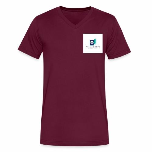 b17471_VEGAS_LOGO_NP_1 - Men's V-Neck T-Shirt by Canvas
