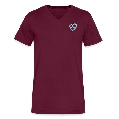 Pat Logo - Men's V-Neck T-Shirt by Canvas
