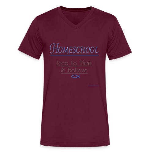 Homeschool Freedom - Men's V-Neck T-Shirt by Canvas