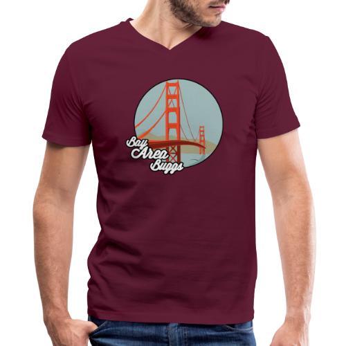 Bay Area Buggs Bridge Design - Men's V-Neck T-Shirt by Canvas