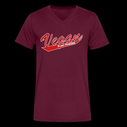 vegan PP - Men's V-Neck T-Shirt by Canvas