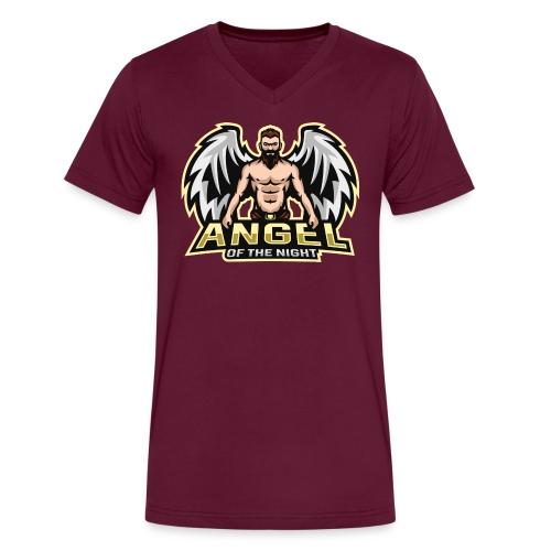 AngeloftheNight091 T-Shirt - Men's V-Neck T-Shirt by Canvas