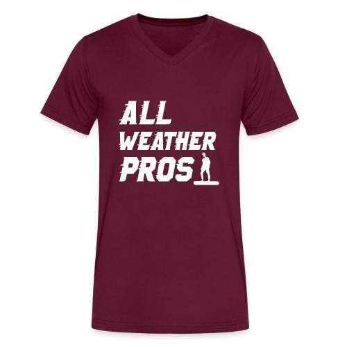 Messenger 841 All Weather Pros Logo T-shirt - Men's V-Neck T-Shirt by Canvas