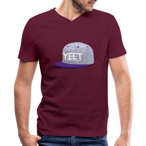 Cap 2 - Men's V-Neck T-Shirt by Canvas