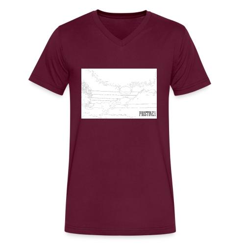 SunLines - Men's V-Neck T-Shirt by Canvas