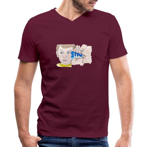 STFU - Men's V-Neck T-Shirt by Canvas