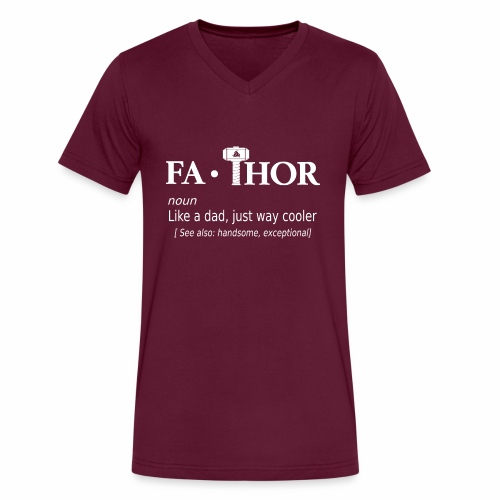 Fathor - Men's V-Neck T-Shirt by Canvas