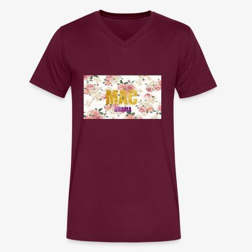 drama - Men's V-Neck T-Shirt by Canvas