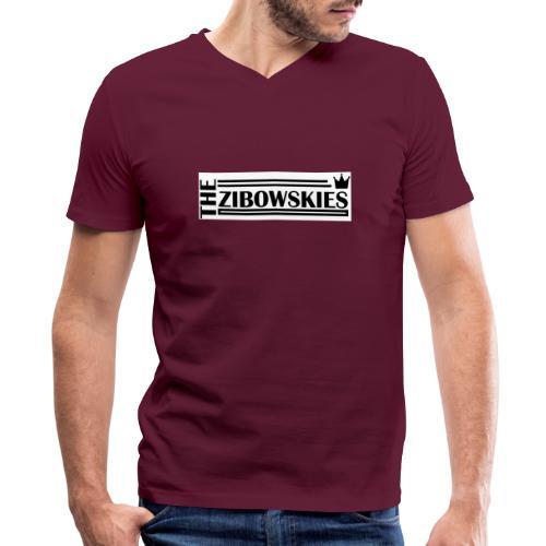 Zibowskies TM - Men's V-Neck T-Shirt by Canvas
