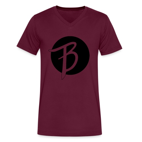 The BLSSD logo - Men's V-Neck T-Shirt by Canvas