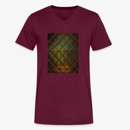 JumondR The goldprint - Men's V-Neck T-Shirt by Canvas