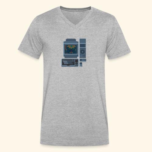 fmt 1 - Men's V-Neck T-Shirt by Canvas
