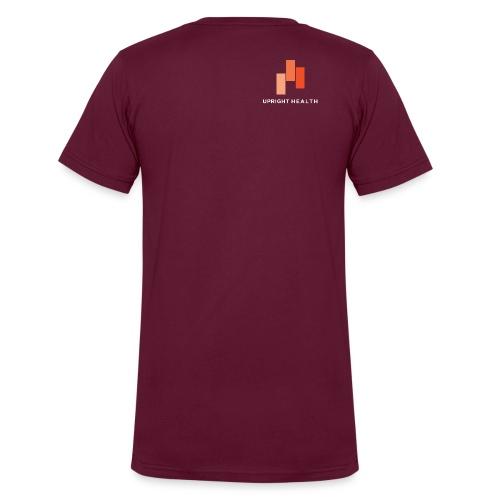 logowhiteletteringforspreadyshirt png - Men's V-Neck T-Shirt by Canvas
