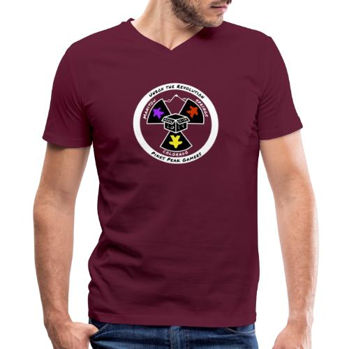 Pikes Peak Gamers Convention 2019 - Clothing - Men's V-Neck T-Shirt by Canvas