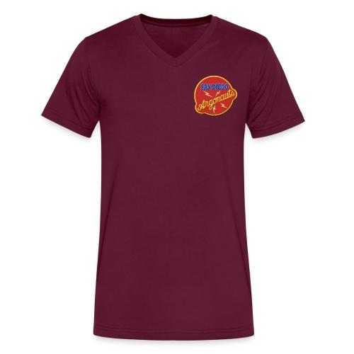 Logo Argonauts Round Logo - Men's V-Neck T-Shirt by Canvas