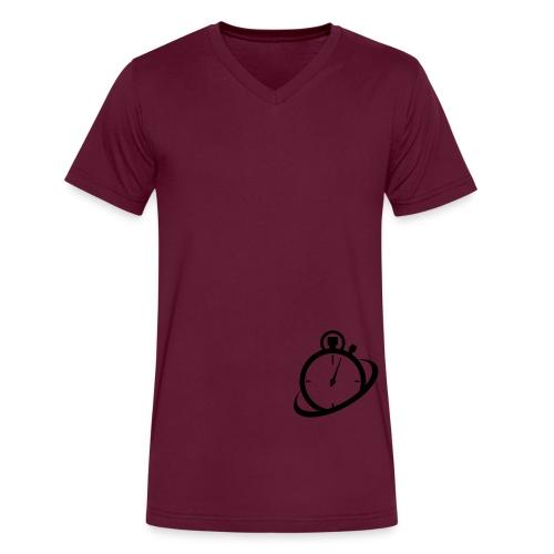 logoknockout - Men's V-Neck T-Shirt by Canvas