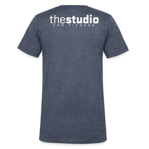 mens sleeveless - Men's V-Neck T-Shirt by Canvas