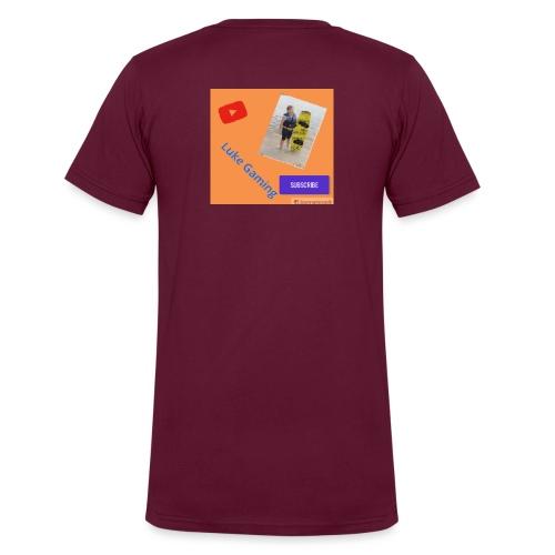 Luke Gaming T-Shirt - Men's V-Neck T-Shirt by Canvas