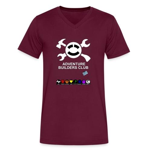 Adventure Builders Club - Men's V-Neck T-Shirt by Canvas
