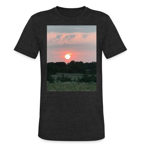 Nature Sunset - Unisex Tri-Blend T-Shirt
