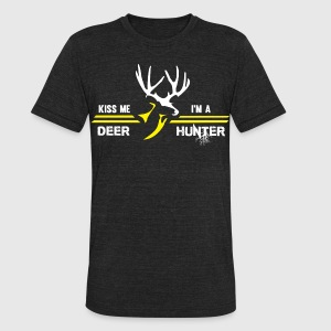 deer 6 - Unisex Tri-Blend T-Shirt by American Apparel