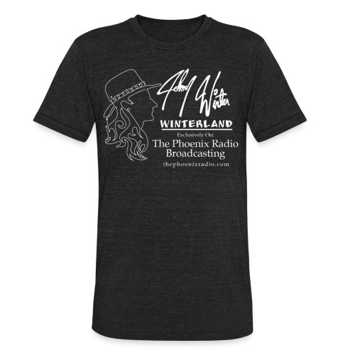 Johnny Winter's Winterland - Unisex Tri-Blend T-Shirt