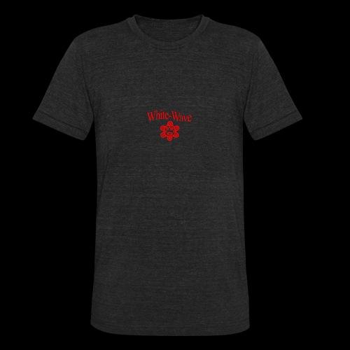 transparent logo - Unisex Tri-Blend T-Shirt