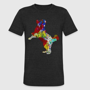 Bernese Mountain Shirt - Unisex Tri-Blend T-Shirt by American Apparel