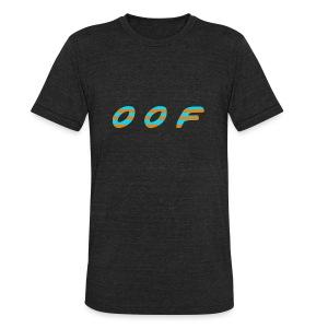 oof [orangejuice+toothpaste] - Unisex Tri-Blend T-Shirt