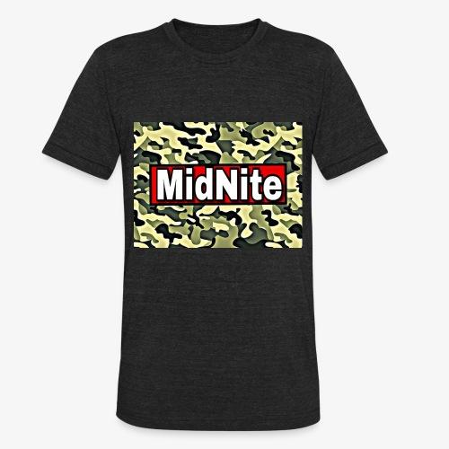 MidNite Camo - Unisex Tri-Blend T-Shirt