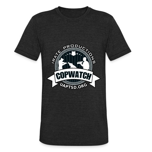 IRATE Productions Copwatch - Unisex Tri-Blend T-Shirt