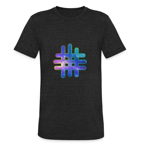 MWF GALAXY LOGO - Unisex Tri-Blend T-Shirt