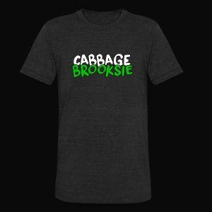 cabbagebrooksie logo v2 - Unisex Tri-Blend T-Shirt